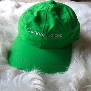 Outdoor Voices Aspen Colorado Baseball Hat